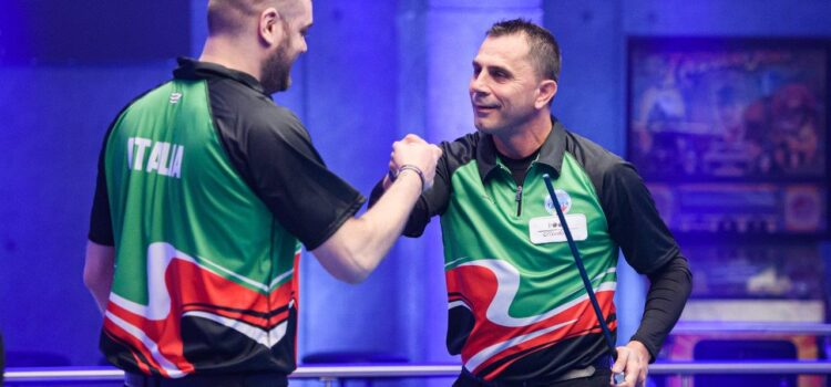 ITALY AND KUWAIT PROVIDE SHOCKS AT WORLD CUP OF POOL