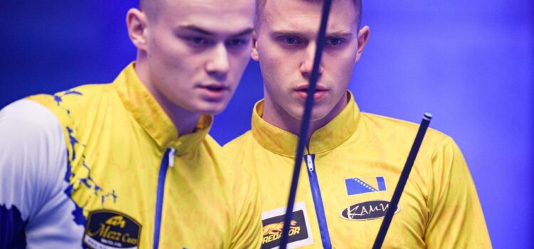 HISTORIC DANNISH WIN AS NETHERLANDS & FINLAND ADVANCE AT WORLD CUP OF POOL