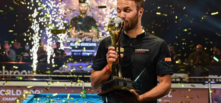 OUSCHAN IS TWO-TIME WORLD POOL CHAMPION