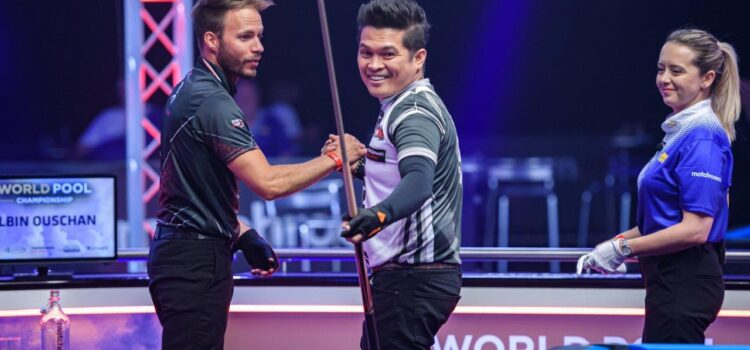 GOMEZ SURVIVES OUSCHAN FIGHTBACK AT WORLD POOL CHAMPIONSHIP