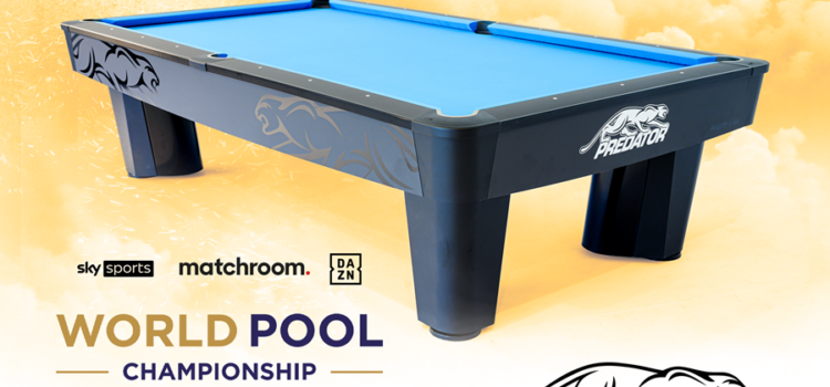 PREDATOR PRO – OFFICIAL TABLE OF WORLD POOL CHAMPIONSHIP