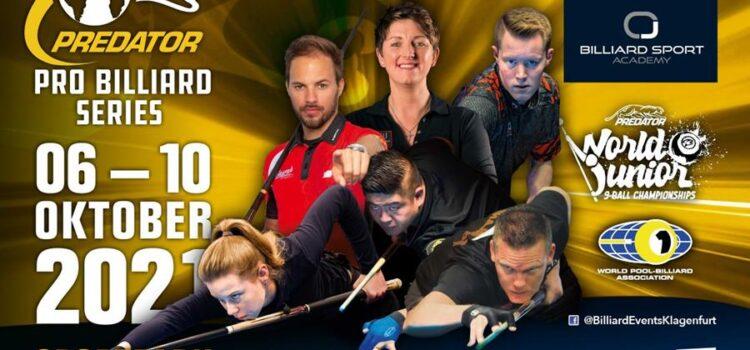 Predator Pro Billiard Series, Oct. 6-10