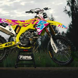 1992 RM Retro Mx Graphics Motocross Graphics Primal X Motorsports