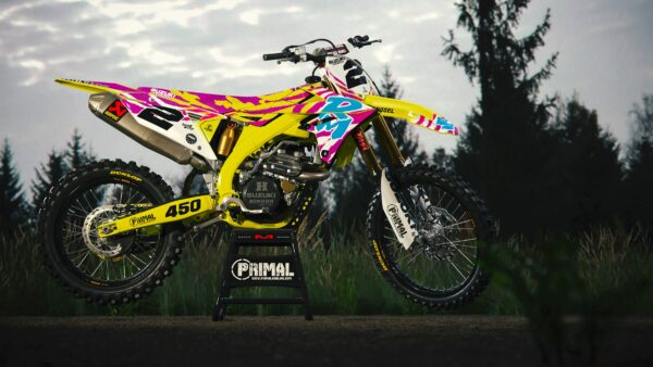 1992 RM Retro Mx Graphics Motocross Graphics Primal X Motorsports