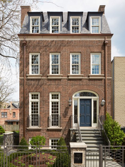 renovated historical home exterior chicago