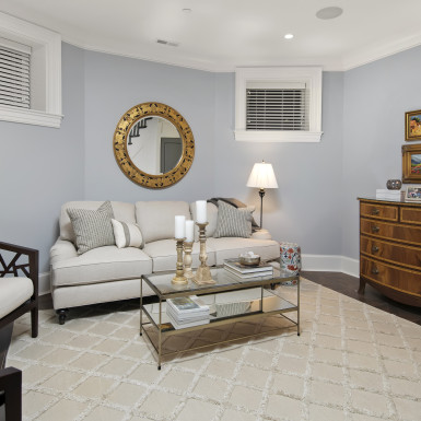 lake view chicago remodeled basement