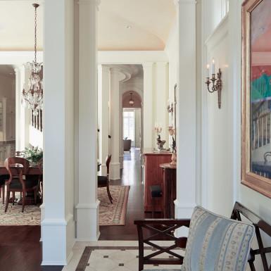 chicago luxury home custom floor tile design