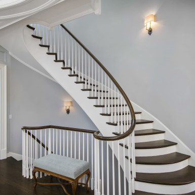 custom designed staircase chicago