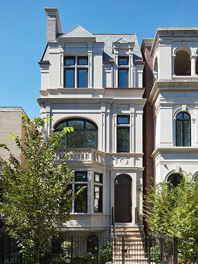 chicago custom home exterior