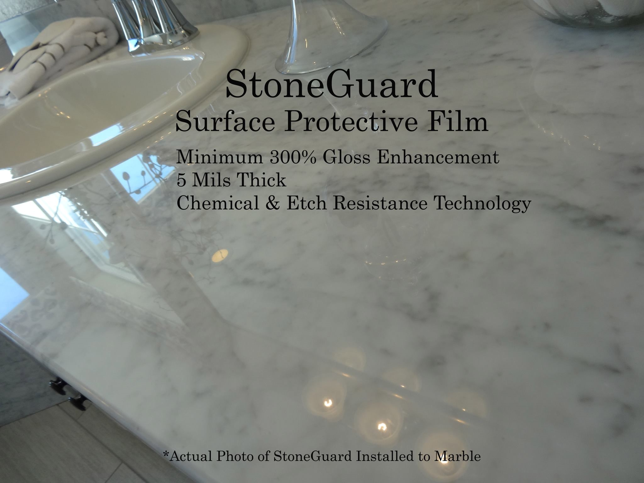 stoneguard surface protective film