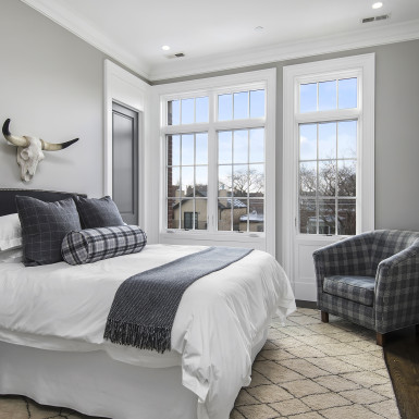 custom home guest room chicago