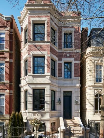 renovated home facade chicago