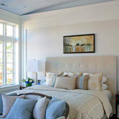 master bedroom home staging chicago