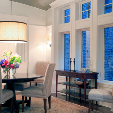 dining room furniture staging chicago