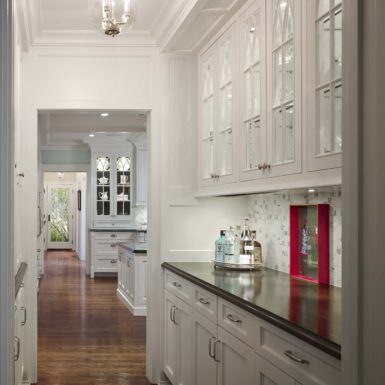 northfield illinois custom home butlers pantry