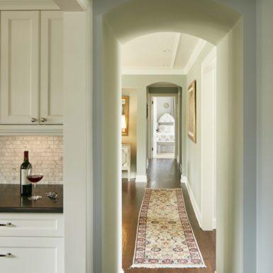 northfield illinois renovated home hallway