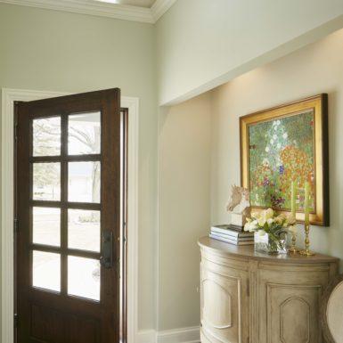 northfield illinois luxury home entryway