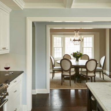 northfield illinois custom home formal dining room