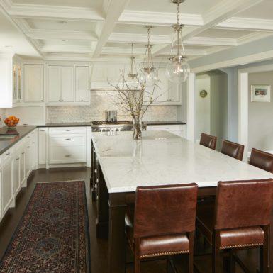 northfield illinois luxury kitchen island with bar seating