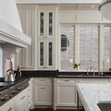 illinois cream kitchen marble countertops