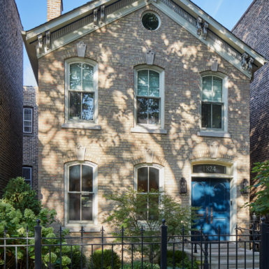 old town chicago renovated home exterior