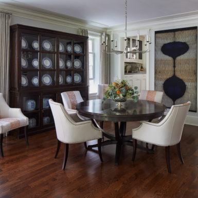 chicago luxury home living room hardwood floors custom cabinets