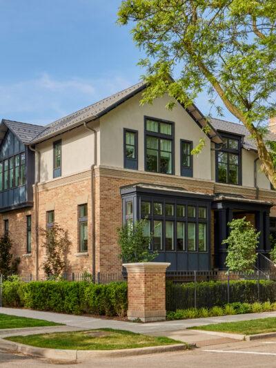 chicago custom home north center community
