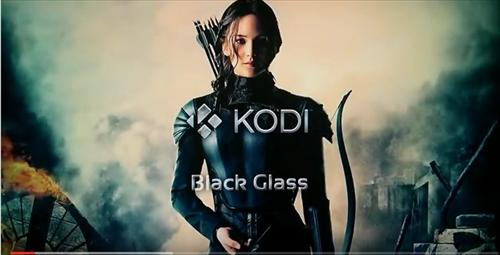 How to Install Black Glass Nova Skin Kodi 17 Krypton step 1