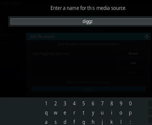 How to Install Diggz Xenon Kodi 18 Leia Build step 6