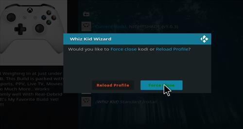 How to Install Nightshade Build Kodi 18 Leia step 21