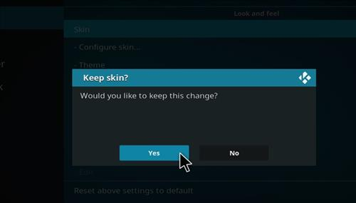 How to change the Skin back to Default Estuary nightshade step 5
