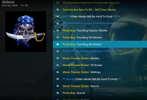 How to Install A Pirate's Life For Me Kodi Add-on with Screenshots pic 2