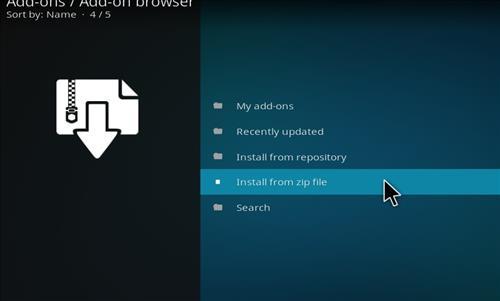 How to Install Taz Kodi Add-on with Screenshots step 10