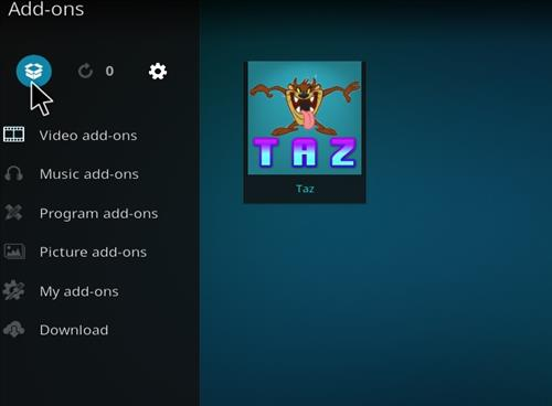How to Install Taz Kodi Add-on with Screenshots step 9