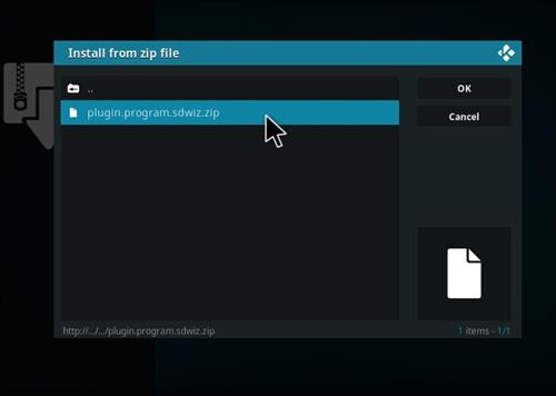 How to Install BK Nox Kodi 18 Build Leia step 12