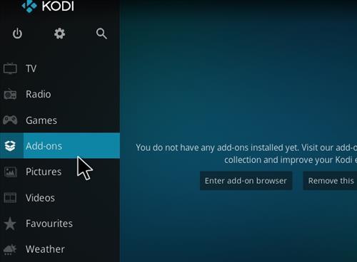 How to Install BK Nox Kodi 18 Build Leia step 8