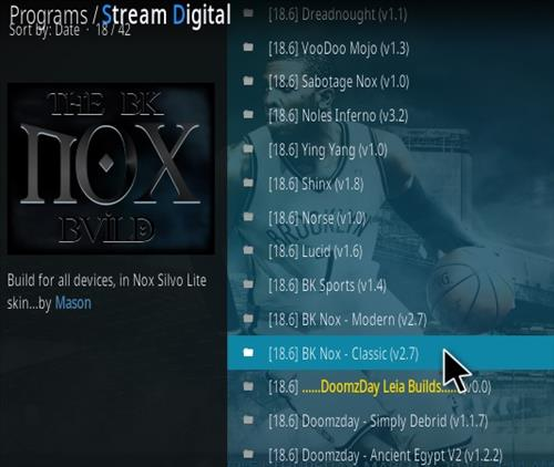 How To Install BK Nox Kodi 18 Build Updated Leia Step 15