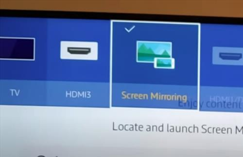 How to Screen Mirror to Samsung Smart TV Galaxy S10, S10E, S10+ Step 2