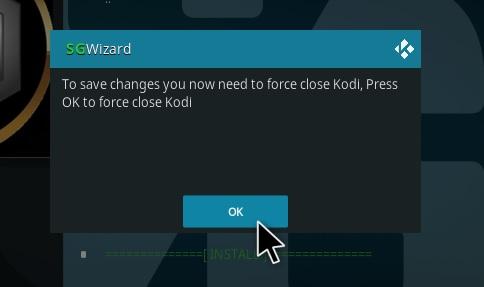 How To Install SPK Matrix Kodi 19 Build Step 20