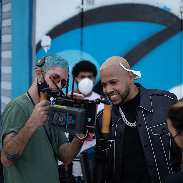 "Exclusive behind the scenes look into Rafa Pabön's New Music Video ""PRENDER"""