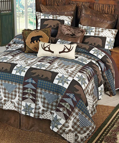 Wildlife Quilt | Bear Creek Lodge Quilt