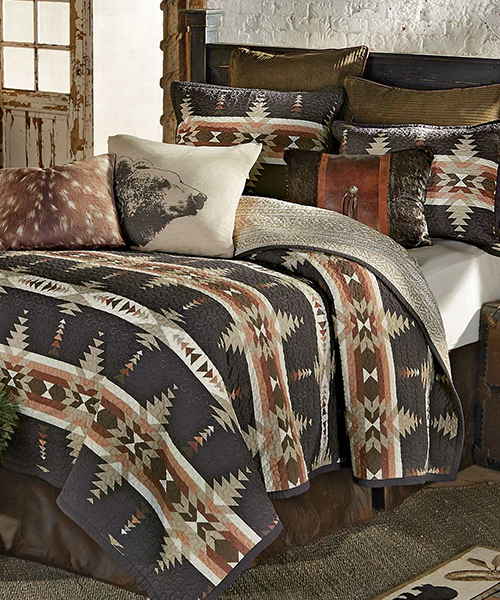 Durango Canyon Quilt Bedding | Rustic Quilts