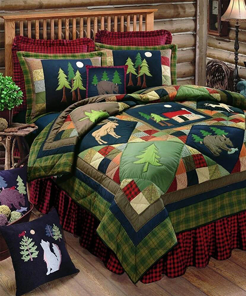 Timberline Rustic Quilt | Quilts
