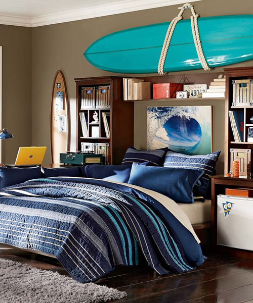 Boys Stripe Bedding