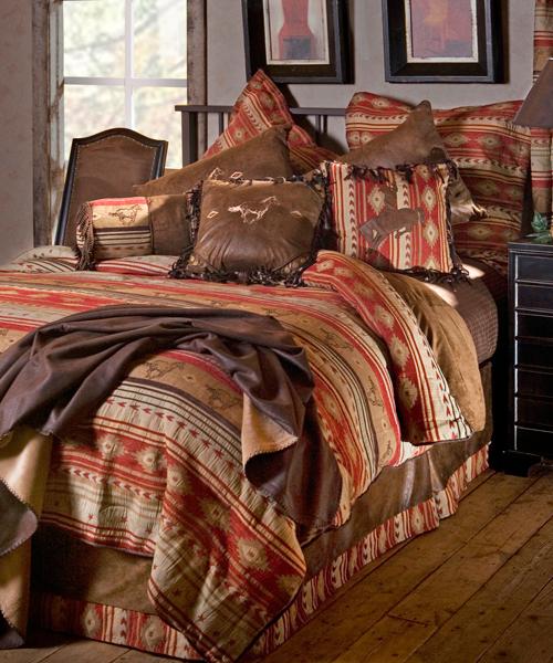 Carstens Flying Horse Western Bedding