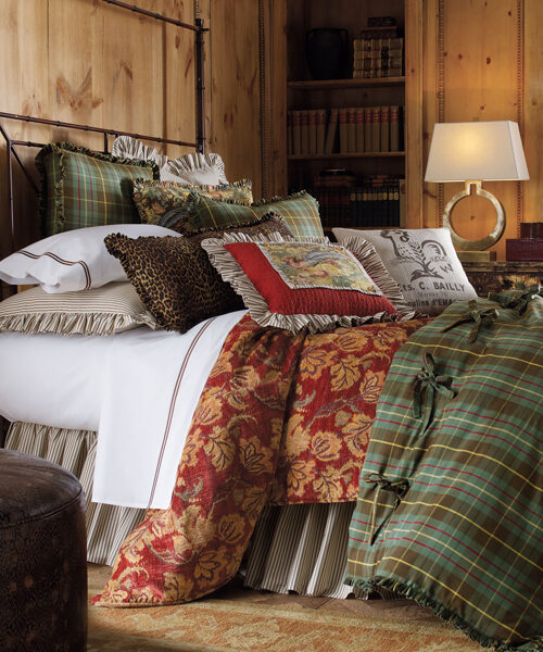 Rustic Bedding & Bath