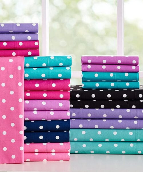 Kids Polka Dots Sheets