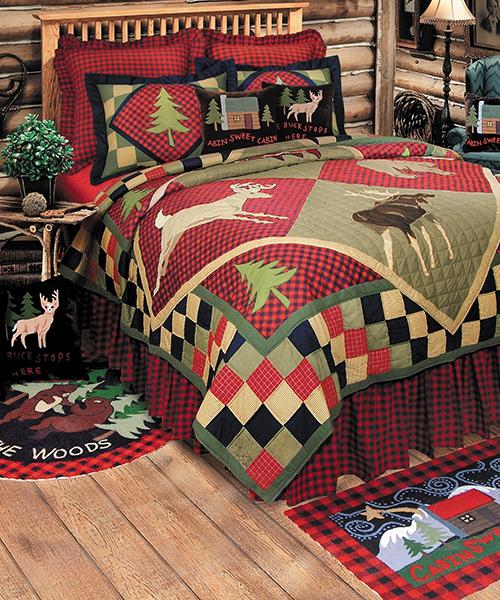 Lodge Patchwork Quilt