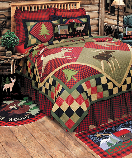 Lodge Patchwork Quilt