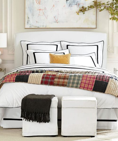 Morgan Black & White Duvet Cover